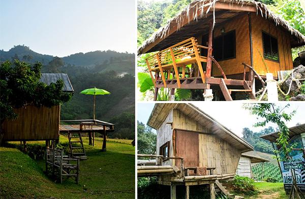 ที่พักแบบโฮมสเตย์ สไตล์กระท่อมกลางป่า ในราคาไม่แพง ได้สัมผัสกับธรรมชาติอย่างแท้จริง