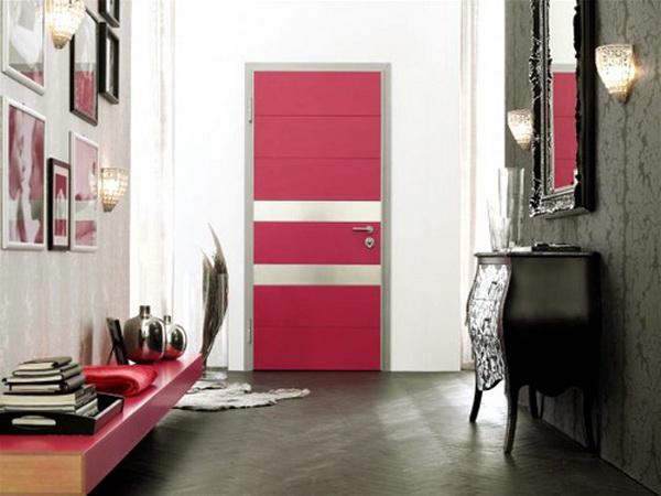ประตูหน้าบ้านตรงกับประตูหลังบ้าน