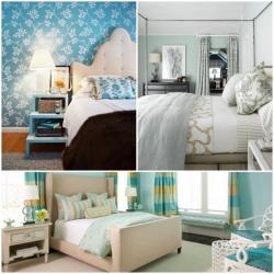 10 วิธีแต่งห้องนอนโทนสีฟ้า ต้อนรับวันแม่