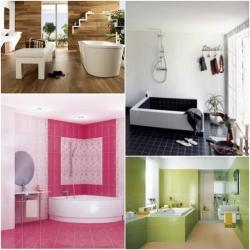 ไอเดียตกแต่งห้องน้ำ เปลี่ยนบรรยากาศในห้องน้ำให้น่าใช้มากขึ้น