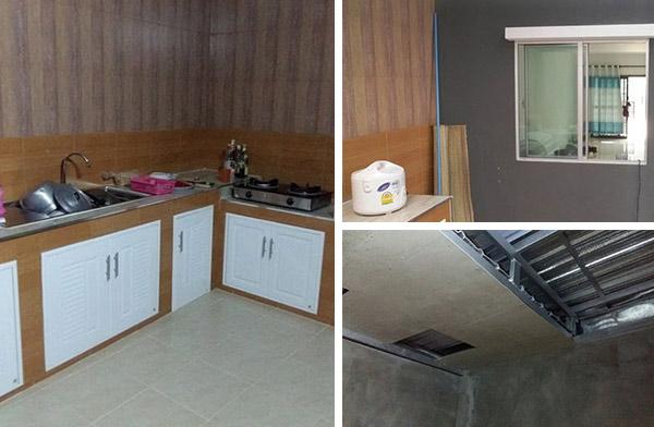 ต่อเติมห้องครัวหลังทาวน์เฮ้าส์