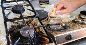 10 ทริคทำควมสะอาดเตาไฟฟ้า เตสชาแก๊ส ขัดคราบรอบข้างให้เงาวับ