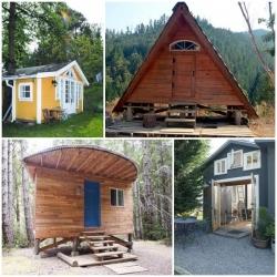 8 สิ่งไอเดียสร้างบ้านสุดชิคทรงกระท่อมขนาดเล็ก น่ารัก แต่น่าอยู่แบบสุดๆ