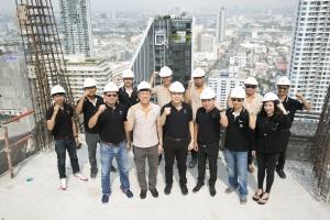 อนันดาฯ ตรวจคุณภาพงานก่อสร้าง โครงการไอดีโอ คิว สยาม-ราชเทวี