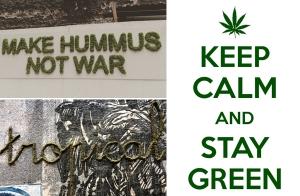 """Keep Calm and Stay Green"" ได้เวลาสายเขียว มาแต่งกำแพงบ้านด้วย Moss Graffiti กันดีกว่า"