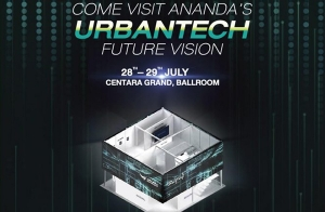 "ANANDA ขอเชิญเยี่ยมชมบูท ""ANANDA's Urbantech future vision"" ในงาน Techsauce Global Summit 2017 พบกัน 28-29 ก.ค.นี้  ณ โรงแรม เซ็นทารา แกรนด์ @เซ็นทรัลเวิลด์"