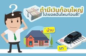 ถ้ามีเงินก้อนใหญ่ หนี้บ้าน หนี้รถ เลือกโปะยอดอันไหนก่อนดี ?