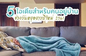 5 ไอเดียสำหรับคนอยู่บ้านในช่วงวันหยุดยาวปีใหม่ 2561