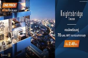 """""""ไนท์บริดจ์ ติวานนท์"""" คอนโดหรู พร้อมอยู่ วิว 360 องศา ติดถนนใหญ่ ใกล้ MRT 21-22 ก.ค.นี้ เริ่ม 2.49 ล้าน*"""