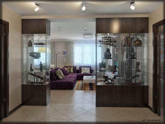 กรณีต้องการความง่ายและเป็นระเบียบ สามารถหาซื้อฉากกั้นห้องมาวางขั้นระหว่าง ประตูหน้า ประตูหลัง หรือระหว่างช่องหน้าต่างที่ตรงกับข้อมูลข้างต้น ...