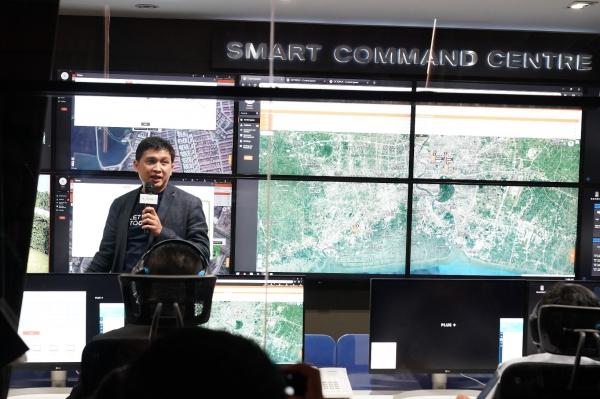 ศูนย์ควบคุมสังเกตุการณ์จากส่วนกลาง (Smart Command Centre)