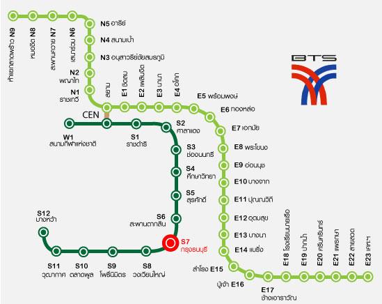 คอนโดใกล้รถไฟฟ้าบีทีเอส กรุงธนบุรี