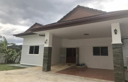 บ้านพร้อมอยู่ Bangthong Lek side for rent (Detached House)
