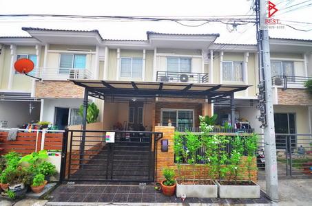 บ้านสวย Desing เยี่ยม พฤกษ์ทาวน์ เทพารักษ์ กม.1 ใกล้ BTS สถานีสำโรง