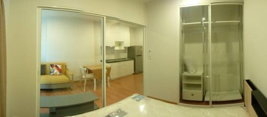 คอนโดใกล้รถไฟฟ้า [Rent Parkland Wongsawang] ให้เช่า คอนโดพาร์คแลนด์วงศ์สว่าง 1 ห้องนอน ขนาด 30 ตรม. ติดรถไฟฟ้า อยู่ใกล้บิ๊กซี