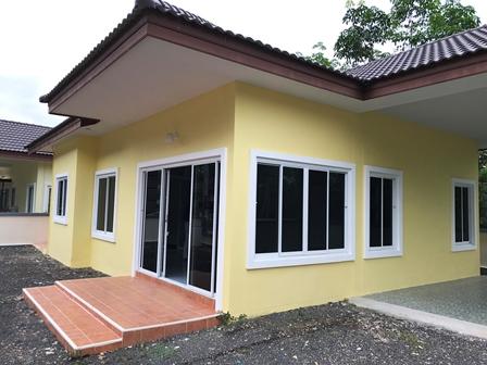 ขาย โครงการบ้านเดี่ยวฉัตรเพชร สนามบิน-บ้านกลาง เนื้อที่ 69 ตรม.