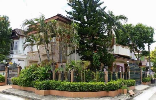ขายบ้านเดี่ยว 2 ชั้น หมู่บ้าน ฟลอร่าวิลล์ พาร์ค ซิตี้ เฟส 1 บ้านหัวมุมแต่งสวย ซอยสุวินทวงศ์ 38 ขายด่วน