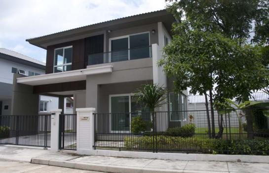 New house for rent Modern Style close to Meechok Plaza in Chiangmai บ้านใหม่สวยหรูโมเดริน์ให้เช่าพร้อมเฟอร์นิเจอร์ ไกล้มีโชคพลาซ่า เมืองเชียงใหม่