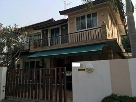 บ้าน ให้เช่า H 309 For Rent Corner House Villa Arcadia Srinakarin 4 Beds Fully furnished Price 40,000 Per Month