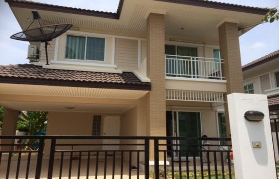 ขาย/ให้เช่าบ้านเดี่ยว หมู่บ้านสัมมากร ราชพฤกษ์ New home for rent only 21,000 baht in Ratchapreuk Road