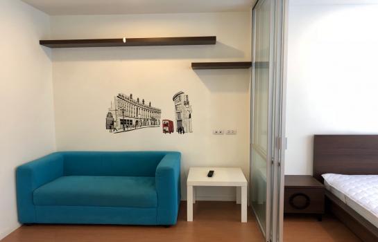 ให้เช่าคอนโด ลุมพินี เมกะซิตี้ บางนา ห้องสวย แดดเช้า แต่งครบ พร้อมอยู่ ราคา 6,500 บาท
