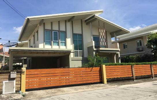 บ้าน ให้เช่า ขายและให้เช่าบ้านเดี่ยว บางนากม.5 พฤกษาปูริ ชานบัว 3 ห้องนอน 3 ห้องน้ำ เฟอร์นิเจอร์ครบครัน