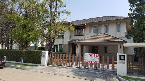 บ้าน ให้เช่า ขายถูก บ้านเดี่ยว ณุศาศิริ ซิตี้ พระราม 2 บิ้วอินท์ ไม้สักทั้งหลัง 172 ตารางวา