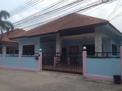 7A9PT0533 บ้านเช่า ให้เช่าบ้านเดี่ยวชั้นเดียว 3 ห้องนอน 2 ห้องน้ำ พื้นที่ 61 ตรว. ราคาเช่าเดือนละ 15,000 บาท ใกล้เนินพลับหวานพลาซ่า ต.หนองปรือ อ.บางละมุง