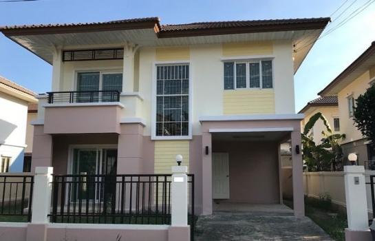 บ้าน ให้เช่า ROD(K) 0603 ให้เช่าบ้านเดี่ยว 2 ชั้น หมู่บ้านพฤกษาวิลเลจ 9 รังสิต คลอง3  คุณ โอ๋ โทร. 089 965 1971