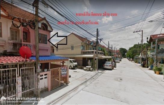 ขายบ้านทาวน์เฮ้าส์2ชั้น หมู่บ้านสุภาวัลย์ ติดถนนศรีนครินทร์ อยู่ช่วงบางปิ้ง ต.บางเมือง จ.สมุทรปราการ พื้นที่22ตรว. ห้องมุม
