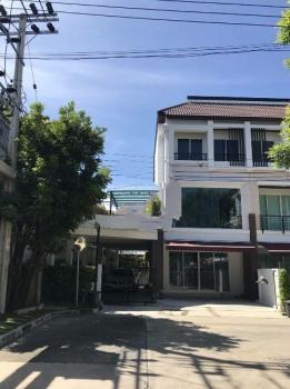 ทาวน์เฮ้าส์ใกล้ทางด่วน am049 ให้เช่าทาวน์โฮม 3 ชั้น บ้านกลางเมือง พระราม 3 ราษฎร์บูระณะ ใกล้โลตัสบางปะกอก ราคาเช่า 30000 บาทต่อเดือน