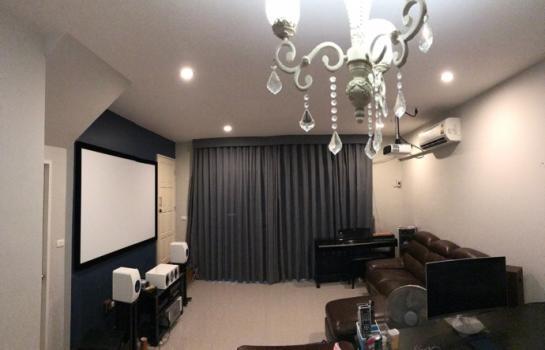ขายบ้าน ทาวน์โฮม 2 ชั้น ทำเลดี เดอะพลีโน่ สุขสวัสดิ์ 30 (The Pleno Suksawad 30) บ้านหน้ากว้าง จอดรถได้ 2 คัน