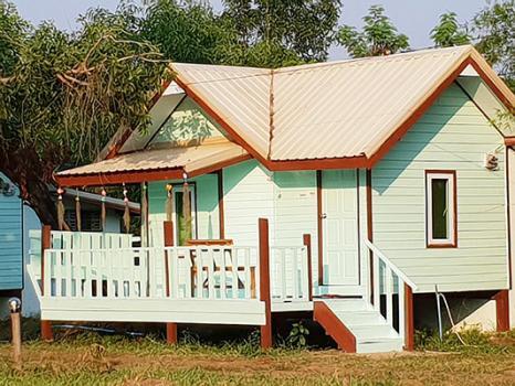 2A5MG0285 ให้เช่าบ้านเดี่ยวชั้นเดียว 1 ห้องนอน 1 ห้องน้ำ พื้นที่ 40 ตรว. ราคาเช่าเดือนละ 4,500 บาท ใกล้VT แหนมเนือง ต.บ้านเลื่อม อ.เมือง