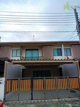 ทาวน์เฮ้าส์ใกล้รถไฟฟ้า SALE/RENT Townhome PRUKSA VILLE 57 (Tropical Modern Style Bali) Pattanakan Soi 38 (Property ID: SPSEVE020)
