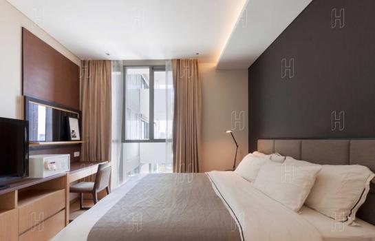 (C007)เอควาเรสซิเด้นซ์ สุขุมวิท 49 1ห้องนอน 1 ห้องน้ำ ห้องมุมตำแหน่งหายาก สวยสุดๆ