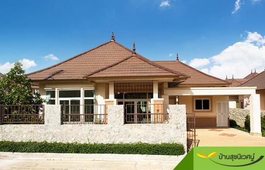 บ้านเดี่ยว กระทิงลาย พัทยา ชลบุรี  โครงการบ้านเดี่ยวเซนสิริ โฮม l Censiri Home