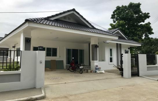 AHD0739 ให้เช่าบ้านเดี่ยวชั้นเดียว พื้นที่ 60 ตารางวา มี 3 ห้องนอน 2 ห้องน้ำ
