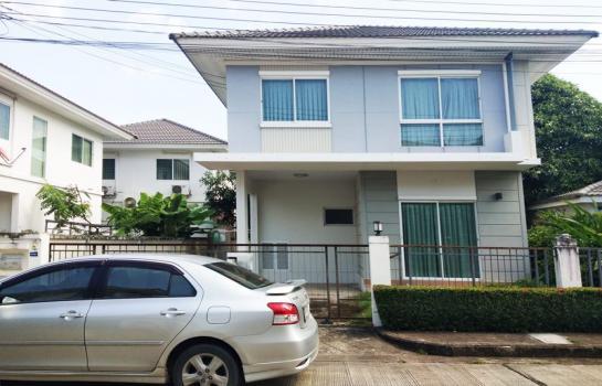 63617 – ขาย หรือ ให้เช่า  บ้านแฝด  Perfect Park Rama5–Bangyai (เพอร์เฟค พาร์ค พระราม5-บางใหญ่)