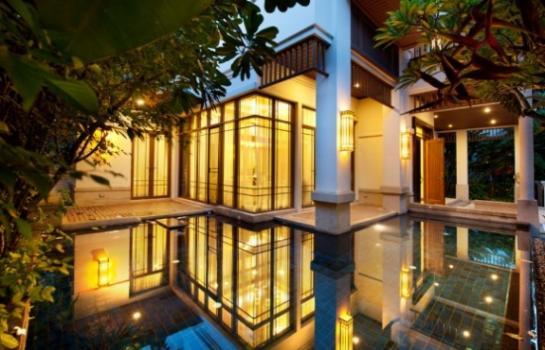 ให้เช่าบ้านสาทร มีสระว่ายน้ำ 4 ห้องนอน ตกแต่งหรูสวยมาก Sathorn Modern Luxury house for rent, Private pool