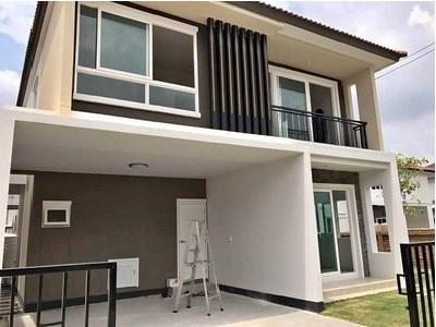 บ้าน ให้เช่า ให้เช่าบ้านเดี่ยวขนาด2ชั้น  ย่านอ่อนนุช พัฒนาการ เฟอร์นิเจอรครบ  ใกล้ Airport link บ้านทับช้าง