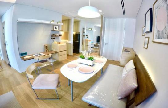 (ให้เช่า) The Lumpini 24 (เดอะ ลุมพินี 24) 2 bedrooms 2 bathrooms, for Rent , Rental 60,000 baht/month area; 55sq.m, on the 26th floor.