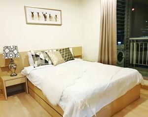 ให้เช่า 1 ห้องนอน คอนโด Rhythm Ratchada 1 เมตรถึง MRT รัชดาภิเษก ห้องสวยมาก พร้อมเข้าอยู่ 20K