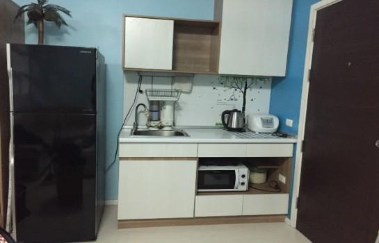 คอนโด ให้เช่า ให้เช่าคอนโด The Log 3 Sukhumvit 101/1  ห้องกว้างพร้อมเฟอร์และเครื่องใช้ไฟฟ้า หิ้วกระเป๋าเข้าอยู่ได้เลย