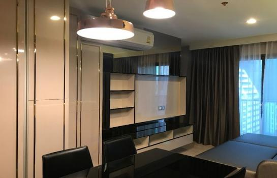 HOT PRICE For Rent Rhythm Rangnam 2 Bedrooms, 14th floor, fully furnished near BTS Victory Monument.