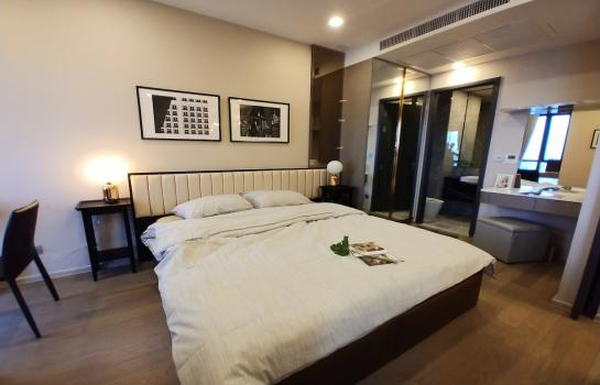For rent Ashton Asoke for rent : 1 bedroom 1 bathroom, fully furnished, High floor, clear view