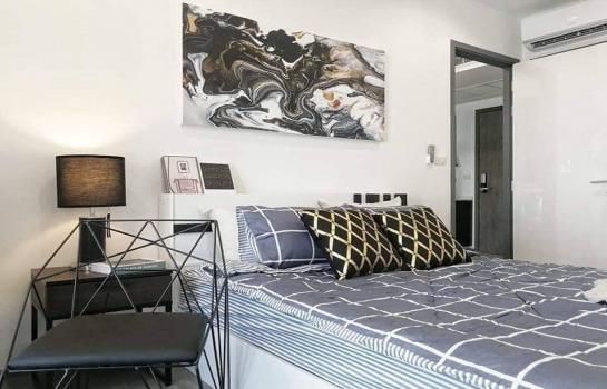ให้เช่า เดอะริช สาทร-ตากสิน ขนาด 35 ตรม. 1ห้องนอน ใกล้ BTS วงเวียนใหญ่ 100 เมตร