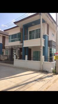 บ้านเดี่ยว 2 ชั้น พื้นที่ 46 ตรว.  ติดถนนโรจนะ ข้างโรงพยาบาลราชธานีโรจนะ ต.สามเรือน อ.บางปะอิน