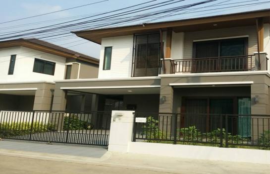 For Rent Pruksa Ville 73 Pattanakarn Fully Furnished พฤกษาวิลล์ 73 พัฒนาการ บ้านแฝดให้เช่า เฟอร์นิเจอร์ครบ (SPSEVE-H265)