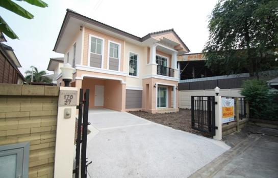 ขายบ้านเดี่ยว 2 ชั้น หมู่บ้าน ภัสสร26 (ราชพฤกษ์-ติวานนท์) ขนาดพื้นที่ 57 ตรว.