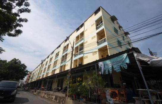 ขายอพาร์ทเม้นท์ 5 ชั้น 2 อาคาร นิคมอุสาหกรรมนวนคร ซ.ไทยธานี 49 ทำเลดี ขายพร้อมผู้เช่า